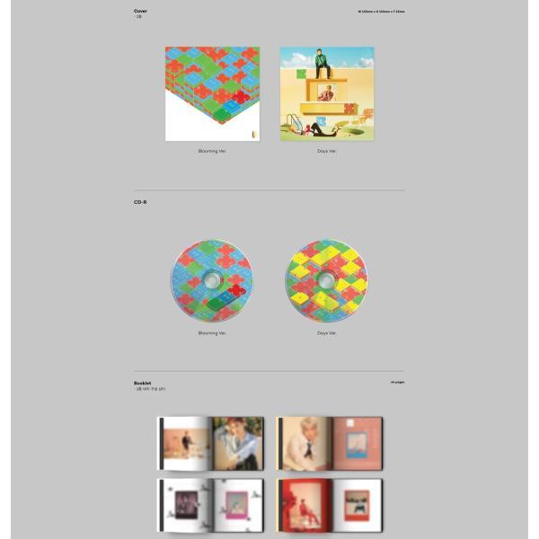 【VER選択】【全曲和訳】EXO CBX BLOOMING DAYS 2ND MINI チェンベクシー 2集 ミニ アルバム【レビューで生写真5枚】【送料無料】|shop11|03