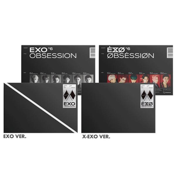 【CD 全曲和訳】EXO OBSESSION 6th ALBUM エクソー 正規 6集【先着ポスター丸め レビューで生写真5枚 宅配便】 shop11