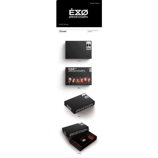 【CD 全曲和訳】EXO OBSESSION 6th ALBUM エクソー 正規 6集【先着ポスター丸め レビューで生写真5枚 宅配便】 shop11 06