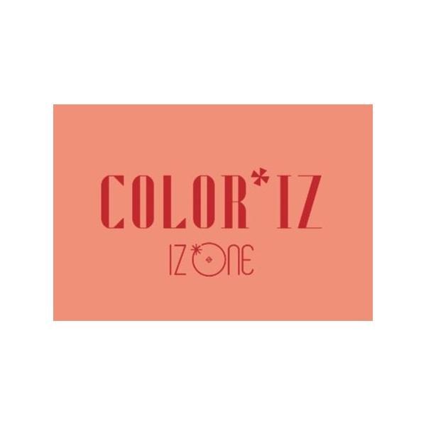 【2種セット】IZ*ONE  COLOR*IZ  1ST MINI ALBUM アイズワン 1集 ミニ アルバム【先着ポスター4種丸め|レビューで生写真5種|宅配便】IZ ONE|shop11