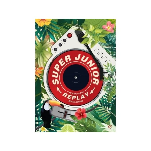 【特別仕入】【限定版】【全曲和訳】SUPER JUNIOR 8TH Repackage REPLAY SPECIAL スーパージュニア 8集【ポスター保証】【レビューで生写真10枚】 shop11