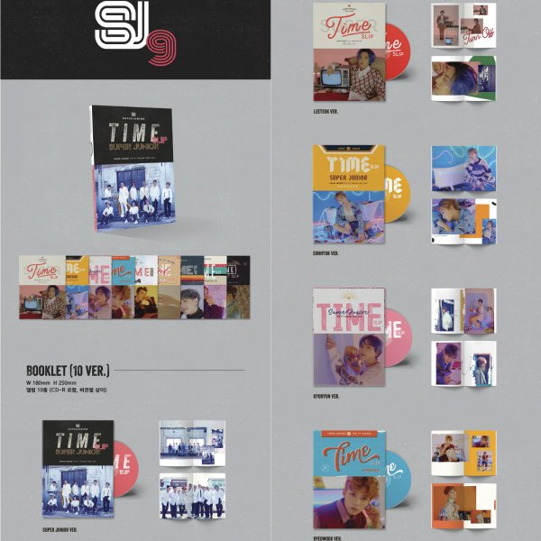 【VER選択|CD|全曲和訳】SUPER JUNIOR TIME SLIP 9TH ALBUM スーパージュニア 正規 9集 アルバム【先着ポスター|レビューで生写真5枚|送料無料】|shop11|02