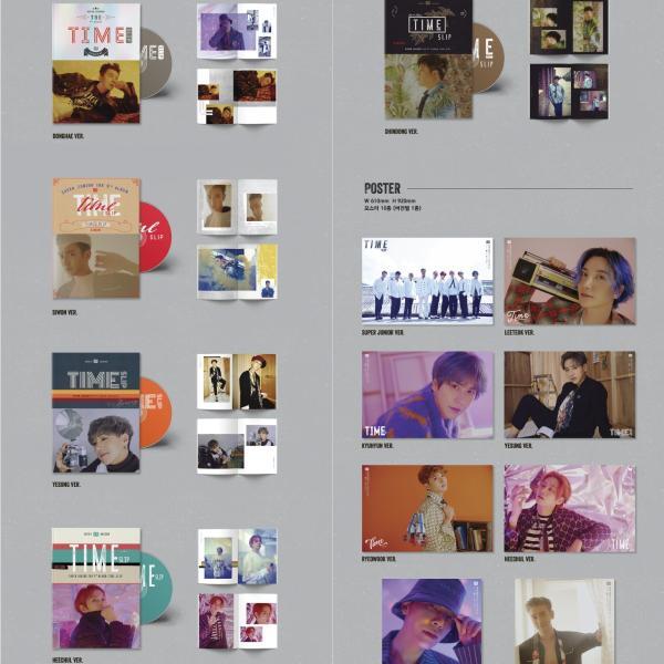 【VER選択|CD|全曲和訳】SUPER JUNIOR TIME SLIP 9TH ALBUM スーパージュニア 正規 9集 アルバム【先着ポスター|レビューで生写真5枚|送料無料】|shop11|03