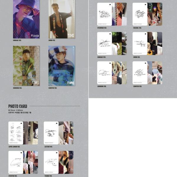【VER選択|CD|全曲和訳】SUPER JUNIOR TIME SLIP 9TH ALBUM スーパージュニア 正規 9集 アルバム【先着ポスター|レビューで生写真5枚|送料無料】|shop11|04