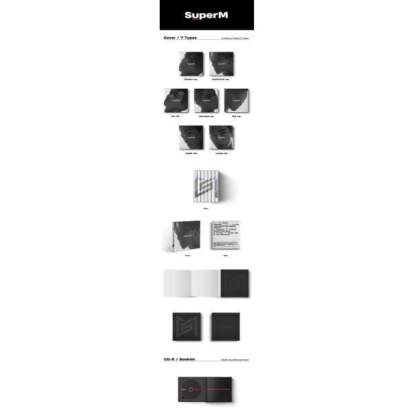 【優先予約|VER選択|CD|全曲和訳】SuperM 1ST MINI SUPER M TAEMIN KAI BAEKHYUN NCT SHINEE EXO スーパーエム【ポスター付|レビューで生写真5枚|宅配便】|shop11|02