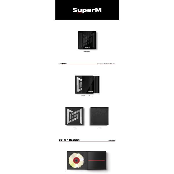 【優先予約|VER選択|CD|全曲和訳】SuperM 1ST MINI SUPER M TAEMIN KAI BAEKHYUN NCT SHINEE EXO スーパーエム【ポスター付|レビューで生写真5枚|宅配便】|shop11|04