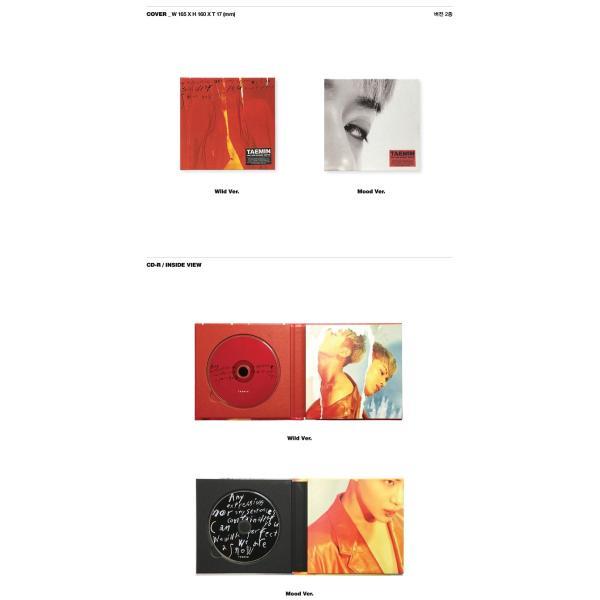 【VER選択】【全曲和訳】TAEMIN MOVE 2ND SOLO ALBUM TAE MIN テミン 正規 2集 ソロー ムーブ【レビューで生写真5枚】【宅配便】|shop11|02