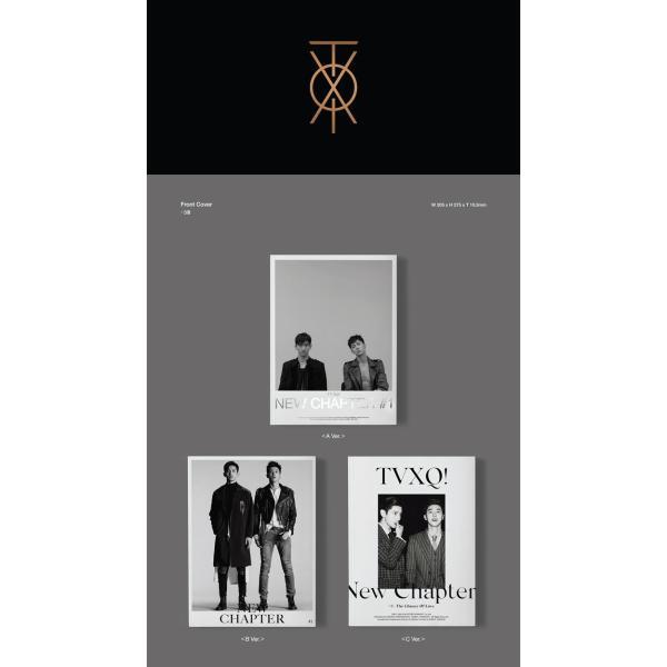 【全曲和訳】東方神起 TVXQ 8TH NEW CHAPTER #1 THE CHANCE OF LOVE 正規 8集【韓国盤】【レビューで生写真5枚】|shop11|02
