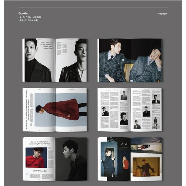 【VER選択】【全曲和訳】東方神起 TVXQ 8TH NEW CHAPTER #1 THE CHANCE OF LOVE 正規 8集【韓国盤】【レビューで生写真5枚】|shop11|03