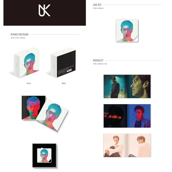 【KIHNO|全曲和訳】TVXQ UKNOW TRUE COLOR S 1st SOLO U-KNOW YUN HO 東方神起 ユノ キノ ソロー【送料無料】|shop11|02