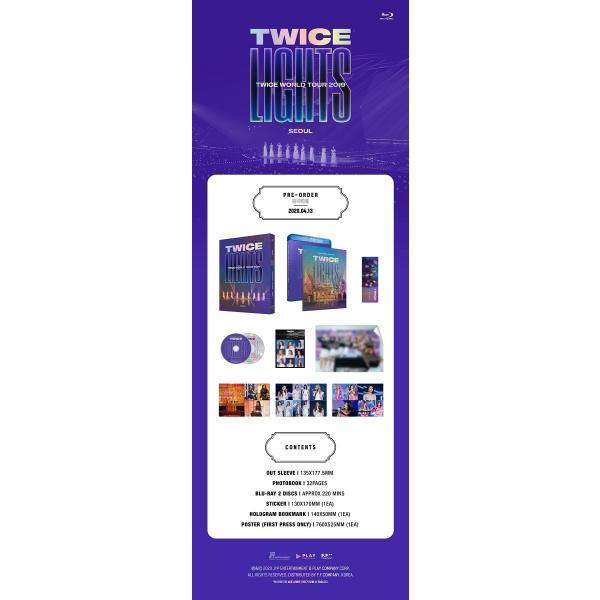 【BLU-RAY】【日本語字幕付】TWICE WORLD TOUR 2019 TWICELIGHTS IN SEOUL【先着ポスター丸め レビューで生写真5種 送料無料】 shop11 02