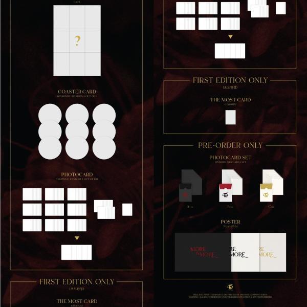 初回トレカ有【全曲和訳】TWICE MORE & MORE 9TH MINI ALBUM ツワイス 9集 ミニ【先着ポスター|レビューで生写真5枚|送料無料】|shop11|03