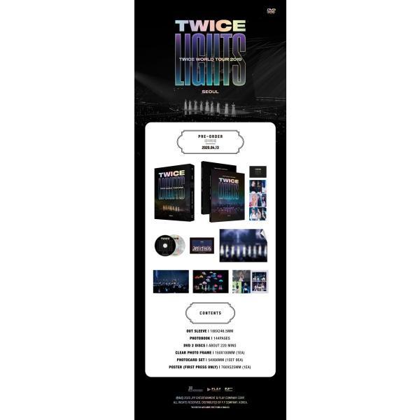 【DVD】【日本語字幕付】TWICE WORLD TOUR 2019 TWICELIGHTS IN SEOUL【レビューで生写真5種|送料無料】ポスター無しで格安|shop11|02