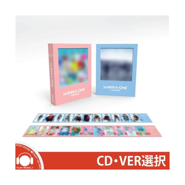 【VER選択】WANNA ONE-1ST MINI ALBUM ワナワン 1集 ミニアルバム【先着ポスター】【送料無料】|shop11