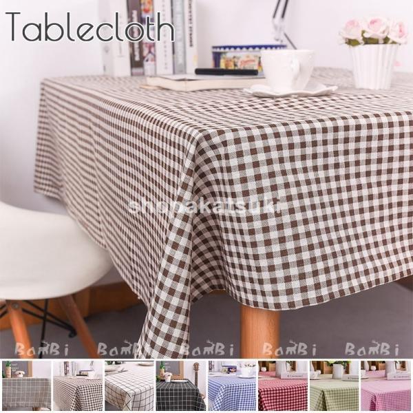テーブルクロス北欧おしゃれテーブルセッティング白リネン布正方形長方形オーダー