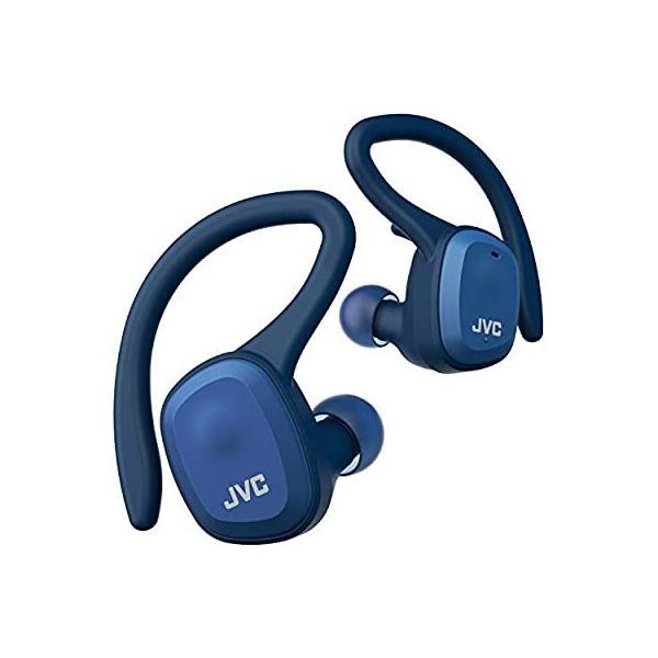 JVC HA-ET45T-A 完全ワイヤレスイヤホン 本体質量7.4g小型軽量ボディ最大14時間再生 防水防塵仕様 Bluetooth Ver5.0対