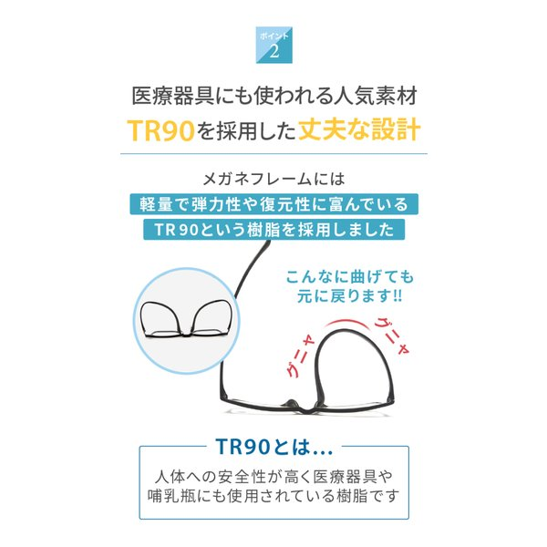 PCメガネ ブルーライトカットメガネ HEVカット率90% UVカット率99% BLカット率23.9% JIS検査済 メガネ用精密ドライバー付き chorbmark|shopao|08
