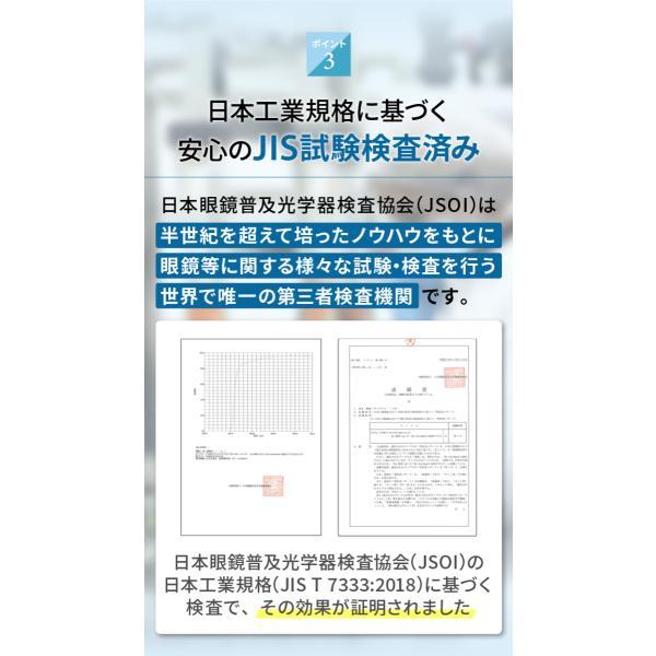 PCメガネ ブルーライトカットメガネ HEVカット率90% UVカット率99% BLカット率23.9% JIS検査済 メガネ用精密ドライバー付き chorbmark|shopao|09