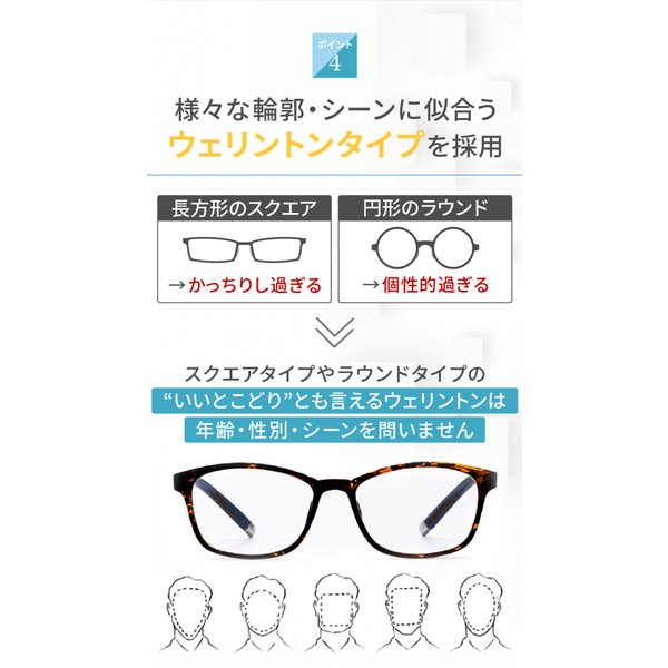 PCメガネ ブルーライトカットメガネ HEVカット率90% UVカット率99% BLカット率23.9% JIS検査済 メガネ用精密ドライバー付き chorbmark|shopao|10