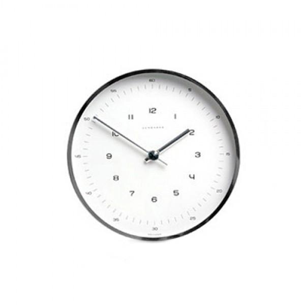 JUNGHANS Max bill【正規品】ユンハンス マックスビル ウオールクロック 直径22cm アラビックインデックスダイアル Ref.367.6048.00 掛け時計
