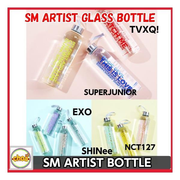 SM ARTIST GLASS BOTTLE #SMTOWN_SUM smtown|shopchoax2