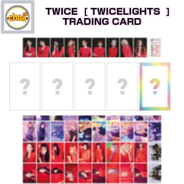 公式グッズ Twice Trading Card Twice World Tour 2019 Twicelights