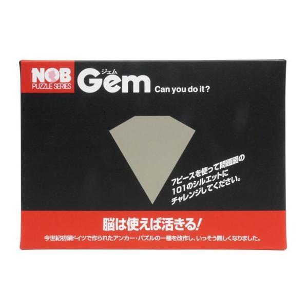 【キャンペーン対象】【銘木ノブパズル】Gem (ジェム)|shopd-1|03