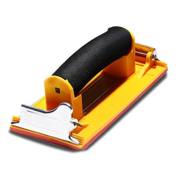 ハンドサンダー DIY 工具 サンドペーパー ヤスリ ホルダー 紙やすり 木材 塗装 加工 便利 女性 簡単 棚作り 椅子 MIGAKING|shopeast|05