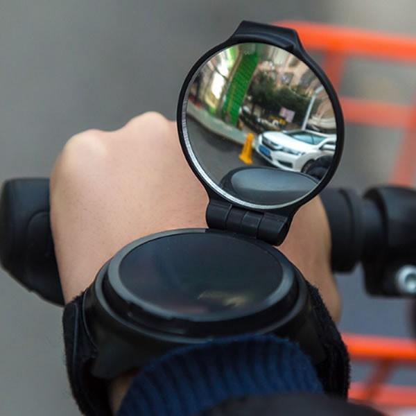腕 拡大鏡 ブレスレット 自転車 本 折畳式 おしゃれ マジックテープ UDEMEGANE