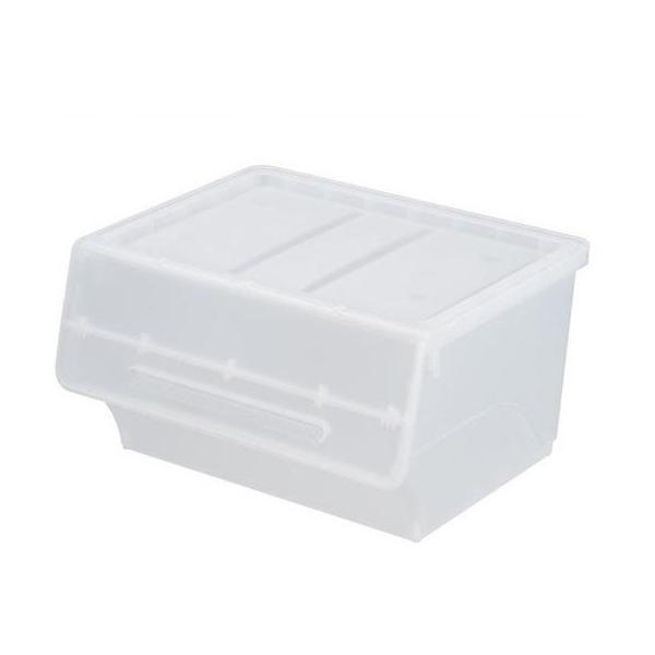 送料無料 froq フロック 収納ケース ワイド30 クリア 6個組 fr-W30CL 代引き・同梱不可