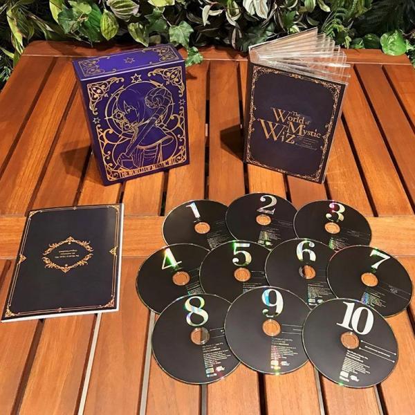 魔法使いと黒猫のウィズ 4th Anniversary Original Soundtrack 10CD+ブックレット【ヤマト宅急便】|shopkawai2