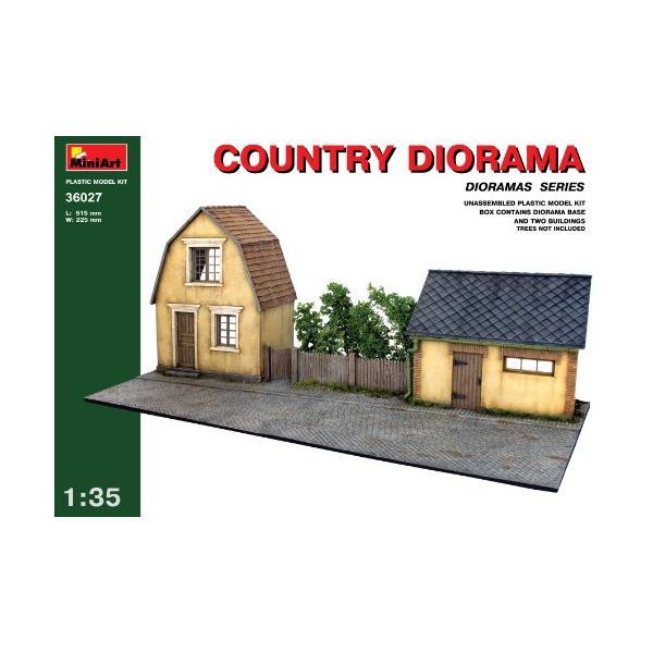 【平行輸入品】 ミニアート 1/35 ジオラマベース27 村の家&納屋 MA36027 プラモデル|shopmercury