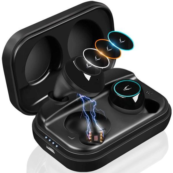 三色イルミネーション カメレオン 自動ON/OFF/ペアリングMYCARBON Bluetooth イヤホン ワイヤレス Bluetooth|shopnoa|10