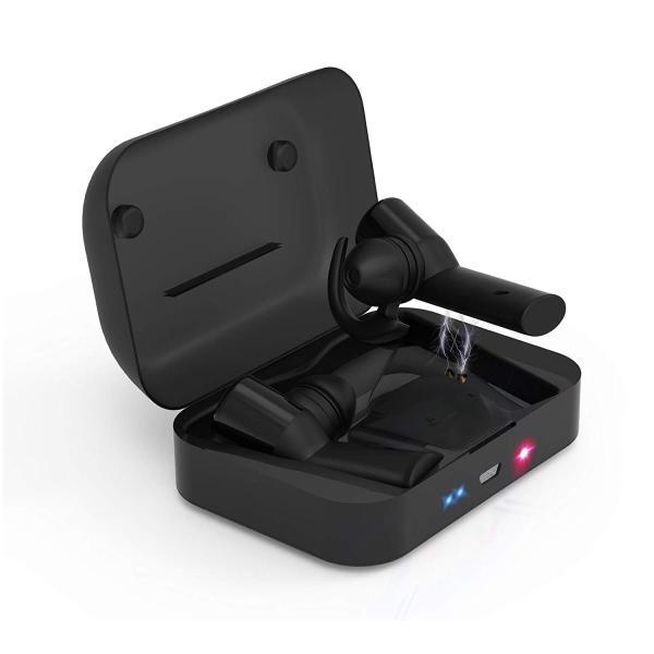 進化版完全ワイヤレスイヤホン 左右分離型 音量調節可能 長時間連続再生 カナル型 自動ペアリング Bluetooth ハンズフリー通話 HI shopnoa