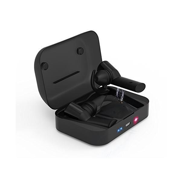 進化版完全ワイヤレスイヤホン 左右分離型 音量調節可能 長時間連続再生 カナル型 自動ペアリング Bluetooth ハンズフリー通話 HI shopnoa 02