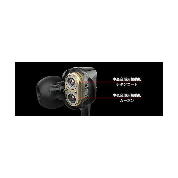 限定モデルJVC FXT200LTD カナル型イヤホン Hi-SPEEDツインシステムユニット搭載 ブラック&ゴールド HA-FXT200L