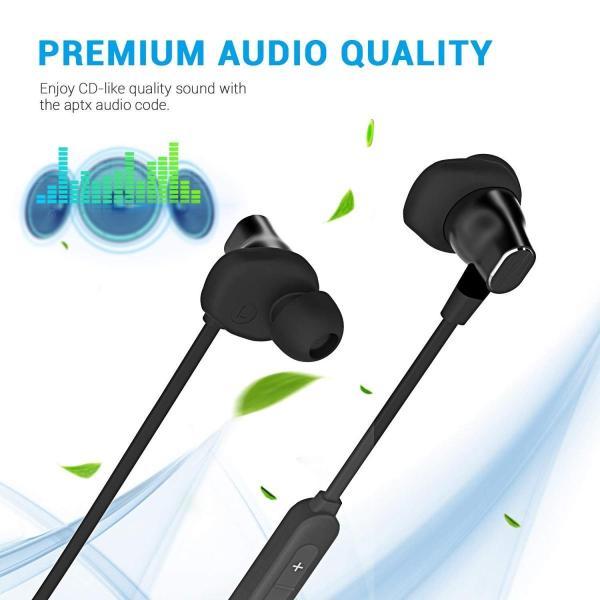 Bluetooth イヤホン ステレオイヤフォン ヘッドホン 進化版 首にかける式 マイク付き 高音質 重低音 有線 カナル型 防水 通話