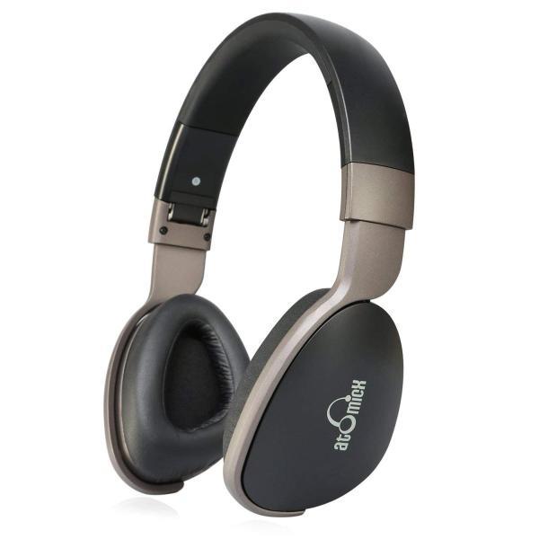 iDeaUSA Bluetoothヘッドホン ワイヤレスヘッドホン 高音質/折り畳み式/遮音/マイク付き/20時間連続稼働