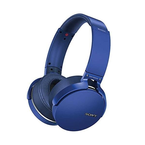 工場再生品 SONY ワイヤレスステレオヘッドセット ブラック MDR-XB950B1/B Blue 並行輸入品