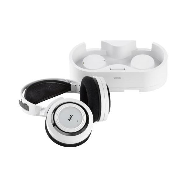 AKG(アーカーゲー) K935 ホワイト ワイヤレス 半密閉型オーバーイヤー・ヘッドフォン 並行輸入品