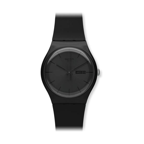 スウォッチSWATCH 腕時計 NEW GENT(ニュージェント) BLACK REBEL SUOB702 正規輸入品|shopnoa