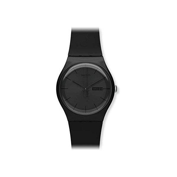 スウォッチSWATCH 腕時計 NEW GENT(ニュージェント) BLACK REBEL SUOB702 正規輸入品|shopnoa|02