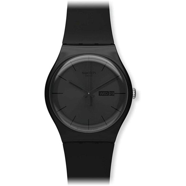 スウォッチSWATCH 腕時計 NEW GENT(ニュージェント) BLACK REBEL SUOB702 正規輸入品|shopnoa|03