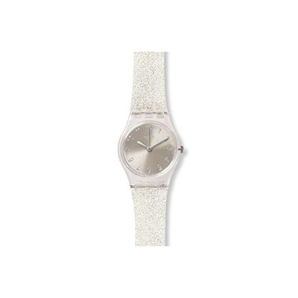 スウォッチSWATCH 腕時計 LadyレディSILVER GLISTAR TOO? (シルバー・グリスター・トゥー) ユニセックス