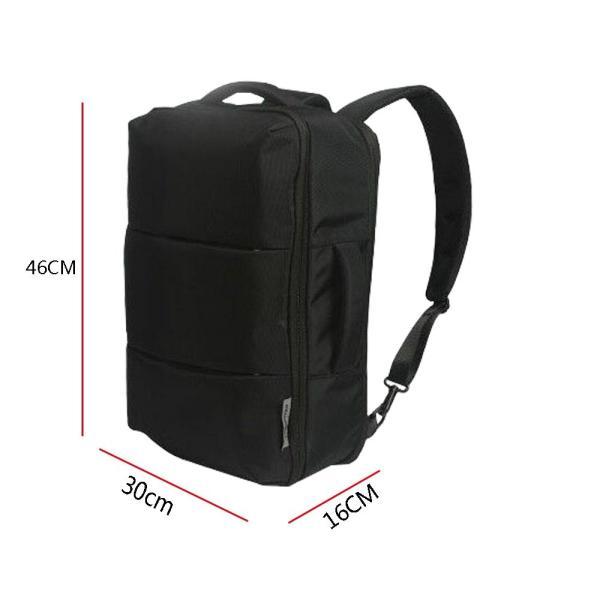 ビジネスリュック メンズ 3way 手提げ WANYI リュックサック ビジネスバッグ 16インチ PCパソコン バックパック 防水 通勤