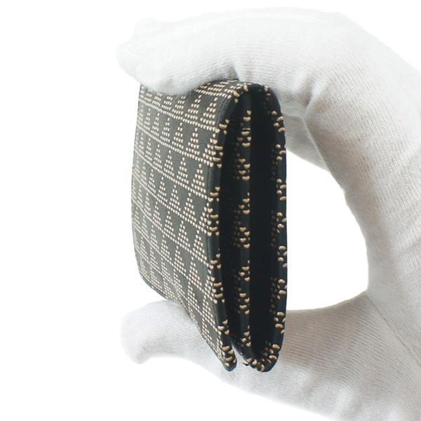 INDEN-YA 印傳屋 印伝 名刺入れ メンズ レディース 男性用 女性用 黒×白 波うろこ 2501-11-118