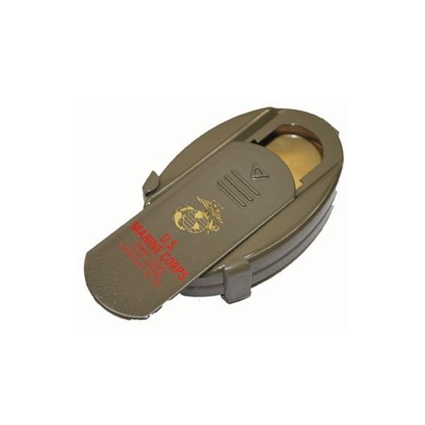 携帯灰皿 USMC (海兵隊) ミリタリー コンパクト 灰皿 携帯用 ストラップ付き|shopnoa|02