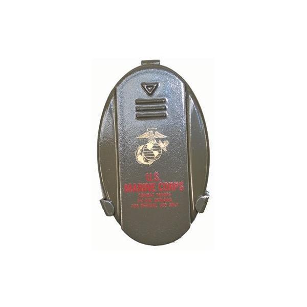 携帯灰皿 USMC (海兵隊) ミリタリー コンパクト 灰皿 携帯用 ストラップ付き|shopnoa|03