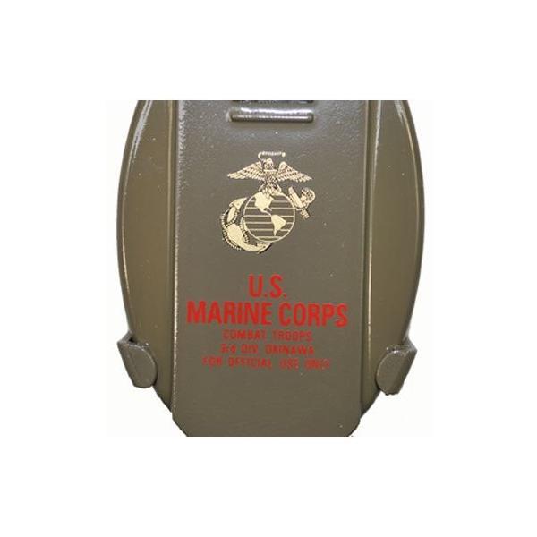 携帯灰皿 USMC (海兵隊) ミリタリー コンパクト 灰皿 携帯用 ストラップ付き|shopnoa|05