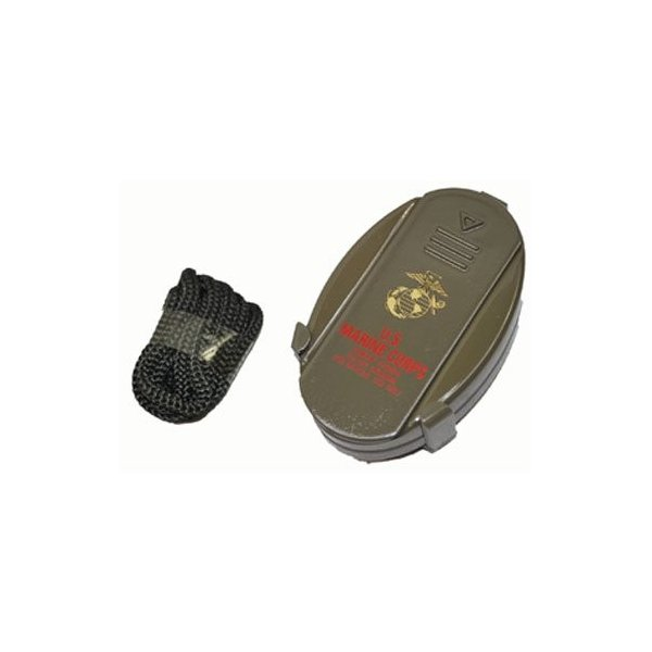 携帯灰皿 USMC (海兵隊) ミリタリー コンパクト 灰皿 携帯用 ストラップ付き|shopnoa|06
